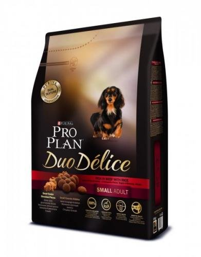 Purina Pro Plan DUO DELICE Small & Mini ADULT hovězí 2,5 kg