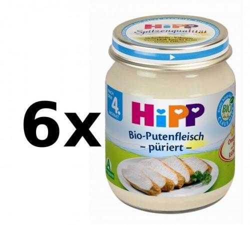 HiPP BIO Krůtí maso - 6 x 125g