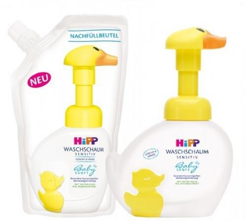 HiPP Babysanft Pěna na mytí 250ml + Náplň 250ml