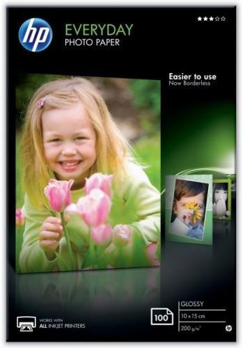 HP fotopapír Glossy Everyday CR757A, 10x15 cm, A3, 100 ks