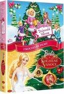 Barbie kolekce: Barbie a Dokonalé Vánoce + Barbie - Kouzelné Vánoce  (2DVD)   - DVD