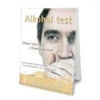 Alkohol test ze slin 1ks
