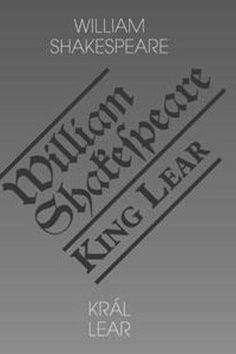 Král Lear/King Lear - William Shakespeare
