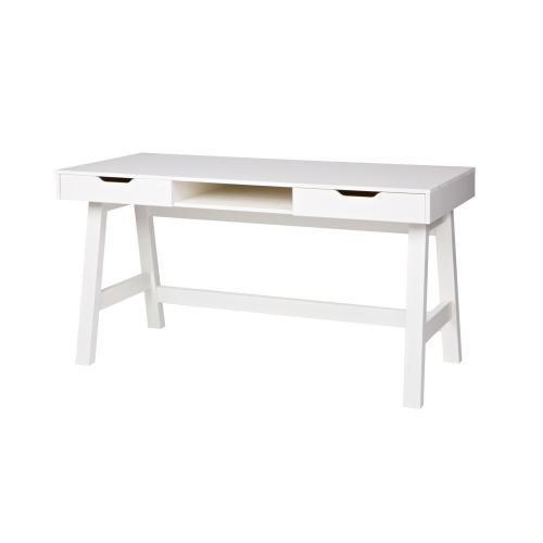 Bílý psací stůl De Eekhoorn Nikki