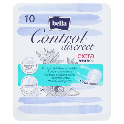 Bella Control Discreet Extra urologické vložky á 10 ks