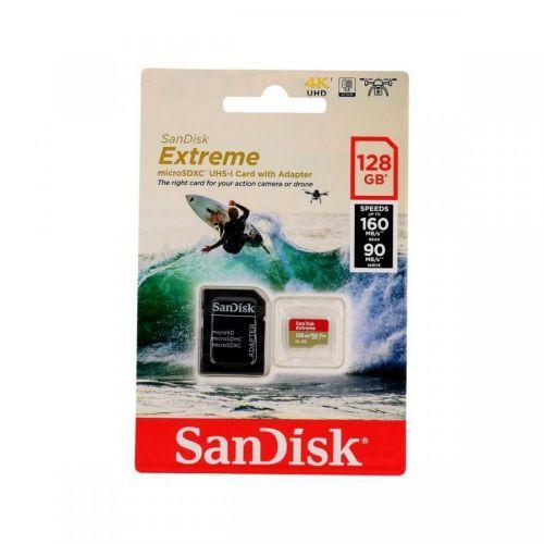 Paměťová karta Sandisk Extreme 128GB micro SDXC 61754