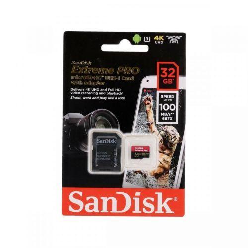 Paměťová karta Sandisk Extreme PRO 32GB micro SDHC 61756