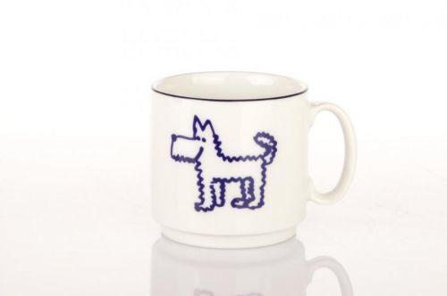 Dětský porcelánový hrnek se psem, 300 ml, Lilien