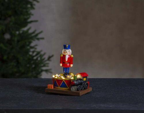 Vánoční světelná LED dekorace Star Trading Nutcracker