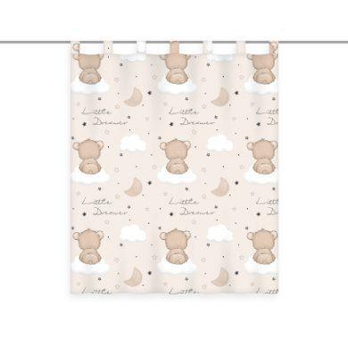 babybest® Záclonový šátek Little Dream er transparentní