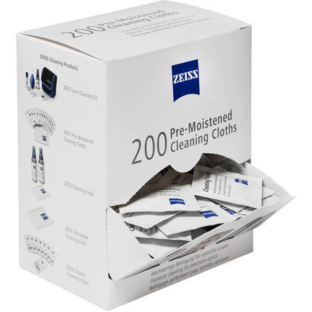 Zeiss Pre-moistened cleaning cloths - Box