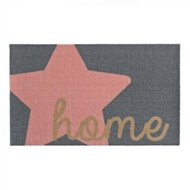 Šedorůžová rohožka Zala Living Design Star Home Grey Pink, 50 x 70 cm
