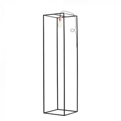 Černá stojací lampa Custom Form Metric, šířka35cm