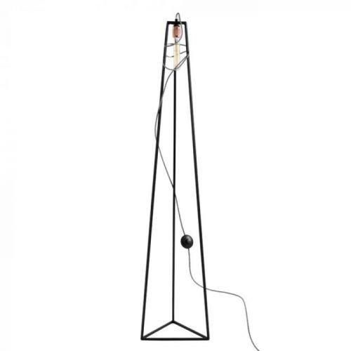Černá stojací lampa Custom Form Trimetric