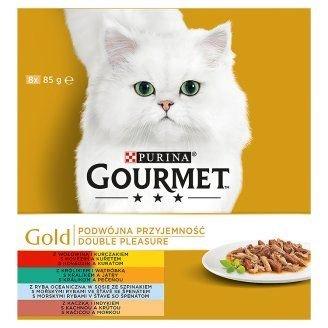 GOURMET GOLD Double Pleasure 8x85g