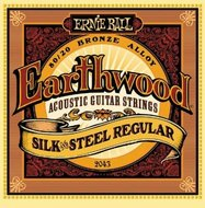 Ernie Ball 2043 Earthwood Silk & Steel Regular