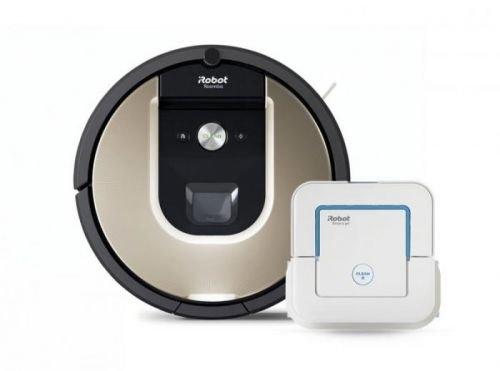 iRobot Roomba 966 + Braava jet 240 ZDARMA