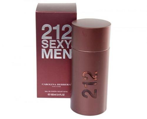Carolina Herrera 212 Sexy For Men - EDT - SLEVA - bez celofánu, chybí cca 1 ml 50 ml