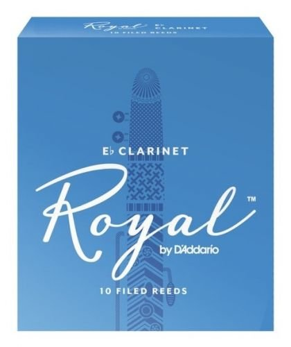 D'Addario Rico Royal Eb Clarinet 1,5, 10