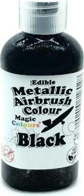 Airbrush barva perleťová Magic Colours (55 ml) Black