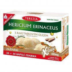 Terezia Hericium erinaceus s rakytníkovým olejem 60 kapslí