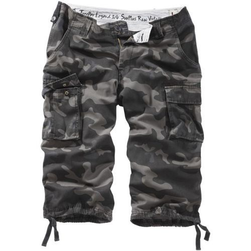 3/4 kalhoty Trooper Legend - blackcamo