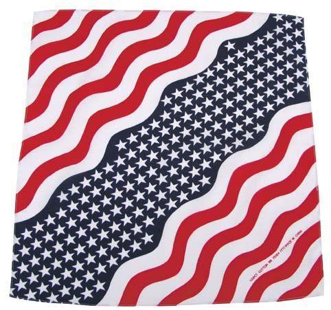Bandana šátek Stars and stripes