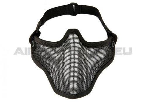 Maska Invader Gear Steel Half Face Mask - černá