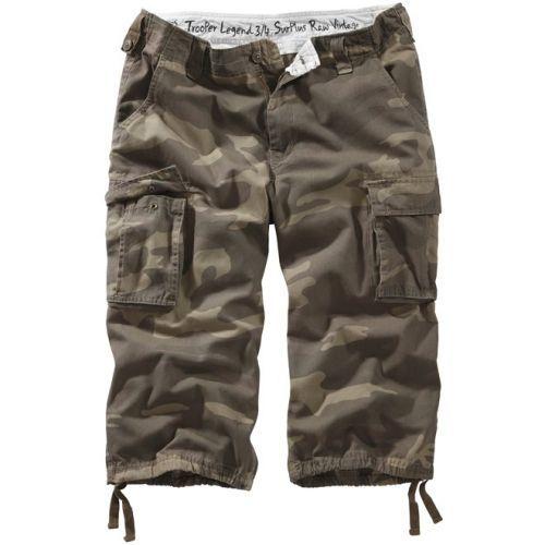 3/4 kalhoty Trooper Legend - woodland