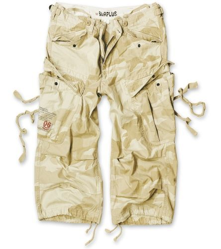3/4 kalhoty Engineer Vintage - desertstorm