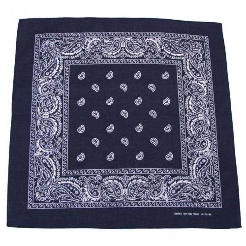 Bandana šátek - navy