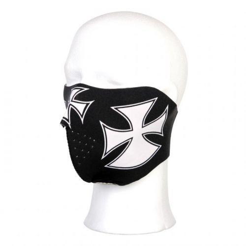 Maska Fostex Half Maltezer Cross - černá