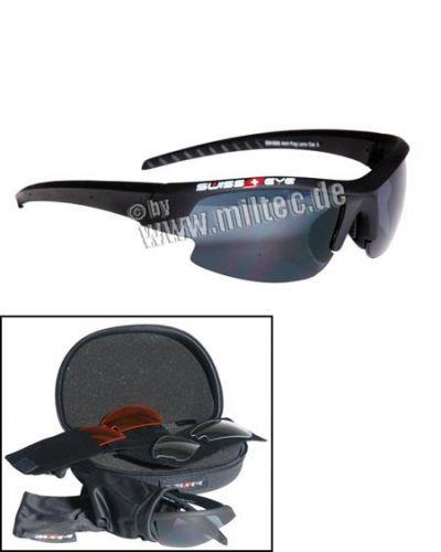 Brýle Swiss Eye Gardosa Ballistisch - černé