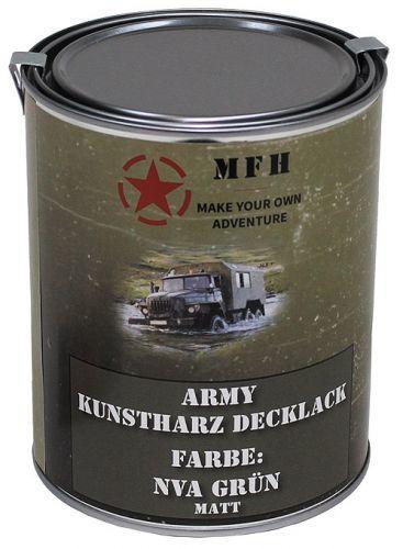 Barva v plechovce MFH 1 litr - NVA