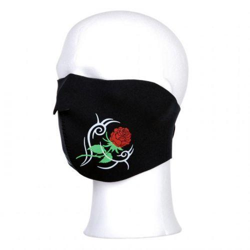 Maska Fostex Half Roses - černá