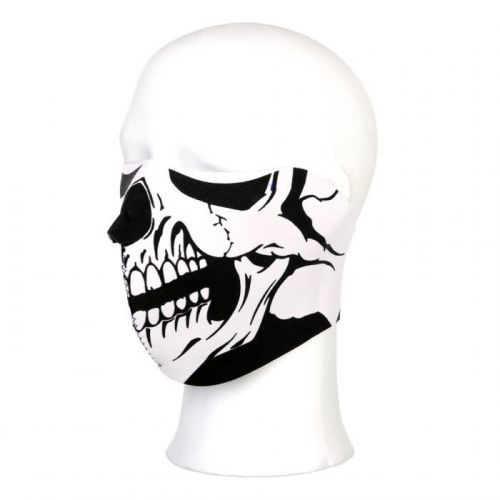 Maska Fostex Half Skull - černá
