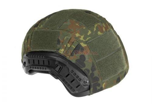 Potah na přilbu Invader Gear FAST Helmet Cover - flecktarn
