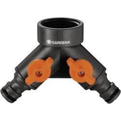 2cestný hadicový ventil Gardena pro kohoutys 33,3mm závitem (G 1