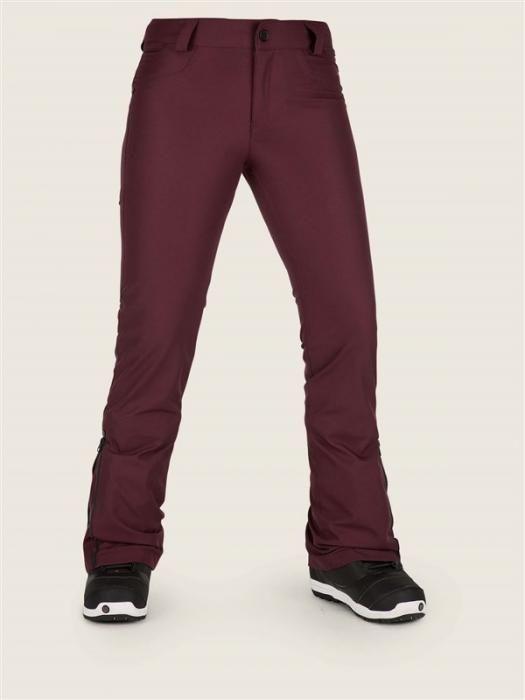 kalhoty VOLCOM - Battle Stretch Pant Merlot (MER) velikost: XS