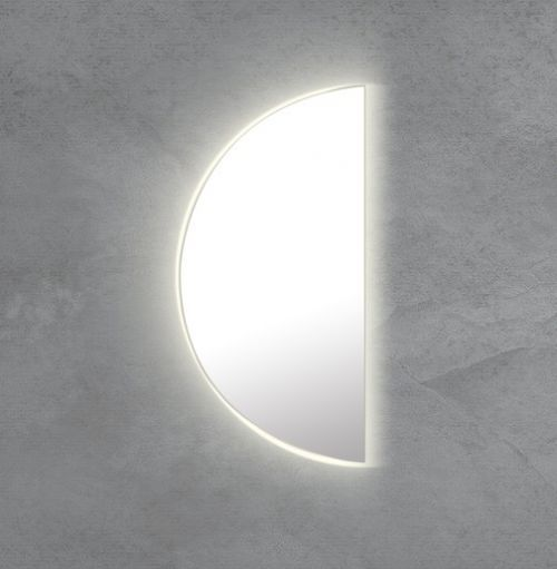 Zrcadlo s LED osvětlením Naturel 50x100 cm bez vypínače ZIL100PKLEDP