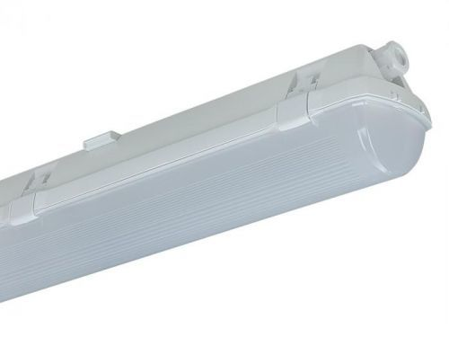 TREVOS LED PRIMA 58W 8000lm denní bílá 4000K /65490/ 1.5ft PC IP66 svítidlo průmyslové přisazené náhrada za 2x58W