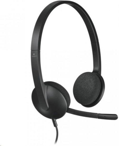 LOGITECH Náhlavní sada Logitech Stereo USB Headset H340 (981-000475)