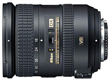 NIKKOR 18-200MM F3.5-5.6G ED AF-S DX ZOOM VR II