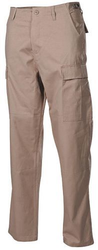 Bojové kalhoty US BDU - khaki