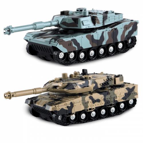 1:28 Tank 4WD LIGHT&MUSIC - 2 druhy