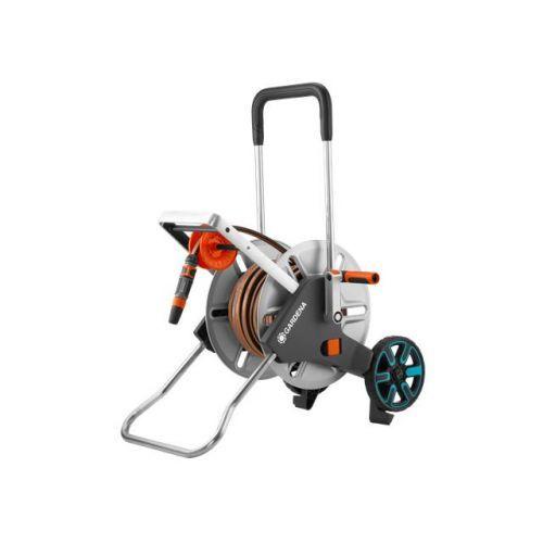 GARDENA AquaRoll M Easy, kovový vozík na hadici - sada