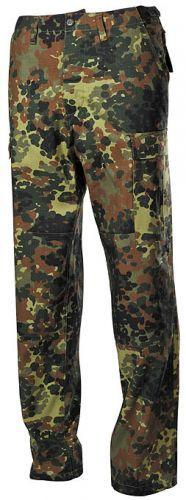 Bojové kalhoty US BDU - flecktarn
