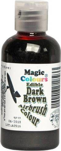 Airbrush barva Magic Colours (55 ml) Dark Brown