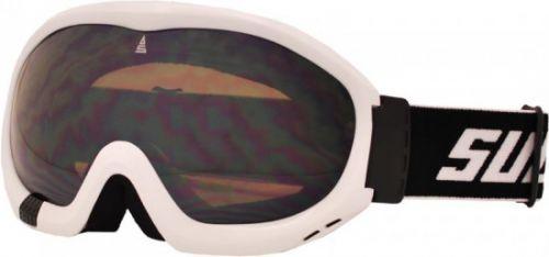 Brýle sjezdové SULOV FREE, dvojsklo, bílé