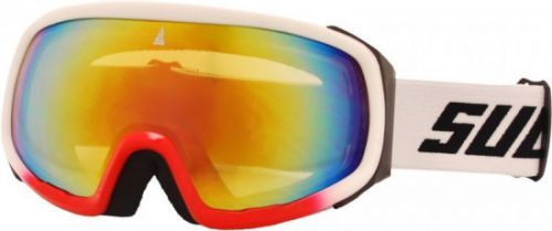 Brýle sjezdové SULOV PRO, dvojsklo revo, bílé